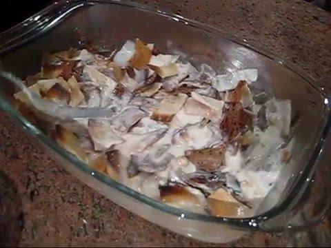 Fattet Hummus-  فتة حمص بالطحينه و اللبن