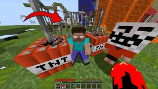 We trolled Herobrine!' He became very angry!! - Minecraft