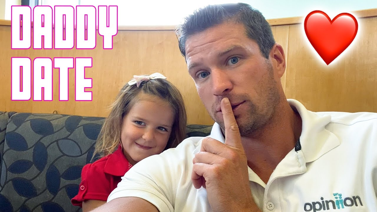 TAKING OUR FIVE YEAR OLD DAUGHTER ON AN AFTERNOON DATE WITH DAD   CHECKING OUT OF SCHOOL EARLY
