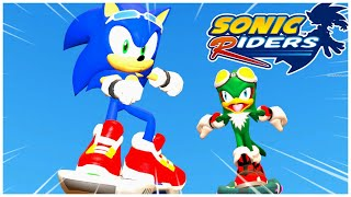 SONIC VS JET WHO WILL WIN! SONIC RIDERS
