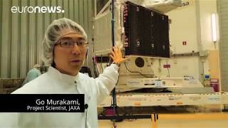 BepiColombo   the spacecraft with Go Marakami