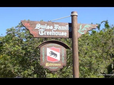 Swiss Family Treehouse Complete Walkthrough Magic Kingdom Walt Disney World