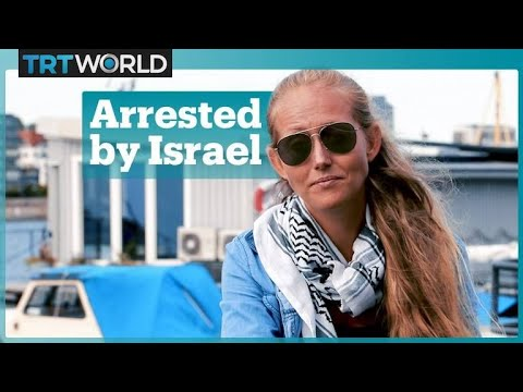 Swedish woman detained over challenge to Gaza blockade