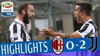 Milan - Juventus 0-2 - Highlights - Giornata 11 - Serie A TIM 2017/18