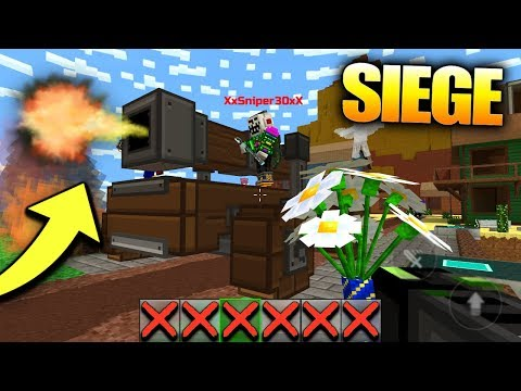 CAN YOU WIN CLAN SIEGE WITH NOTHING?! (Pixel Gun 3D Fort Siege Gameplay)