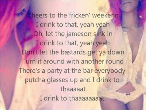 Rihanna-Cheers (drink to that) Lyrics