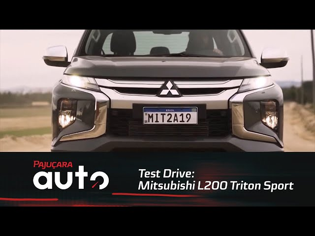 Test Drive: Nova Mitsubishi L200 Triton Sport