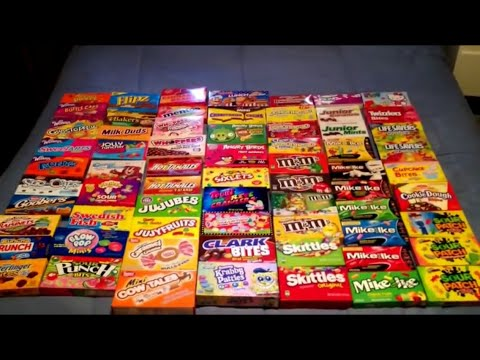 candy box collection youtube