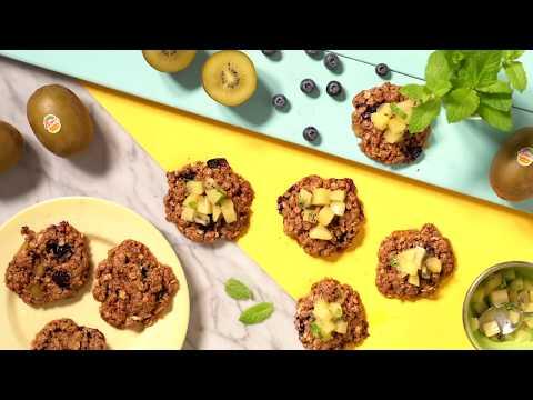 Frühstücks-Superkeks Mit Zespri SunGold Kiwis