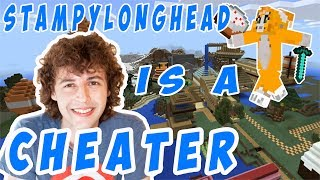 Stampylonghead EXPOSED CHEATING | Minecraft survival world (Tour) response