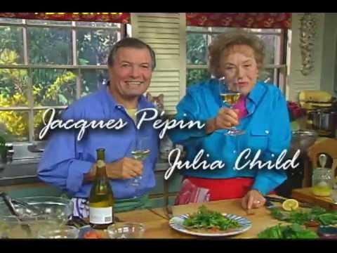 Julia child jacques pepin sampler youtube - Julia child tv show ...