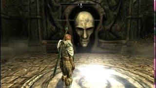 Skyrim Как пройти головоломки в Картспайре квеста Стена Алдуина
