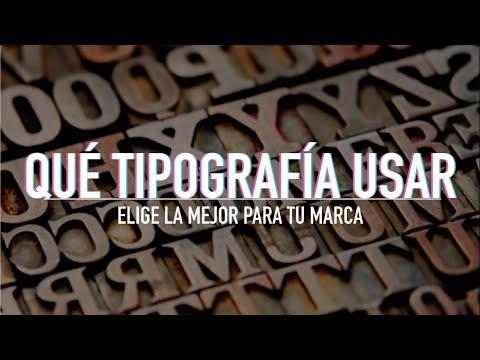 CÓMO ELEGIR LA MEJOR TIPOGRAFÍA PARA UN LOGOTIPO - (2017) - César Dabián