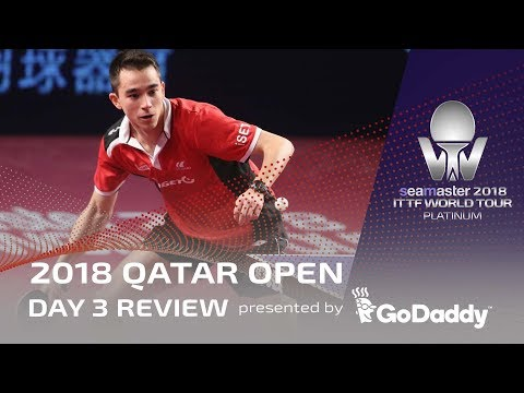 2018 Qatar Open I Day 3 Review Presented by GoDaddy