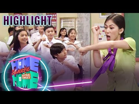 Mikee teaches her students the Mathematics Dance | HSH Extra Sweet