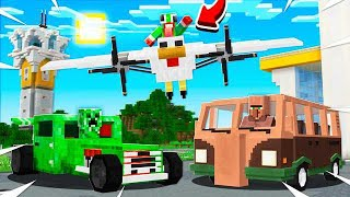 WHAT IF MINECRAFT MOBS WERE CARS & PLANES!