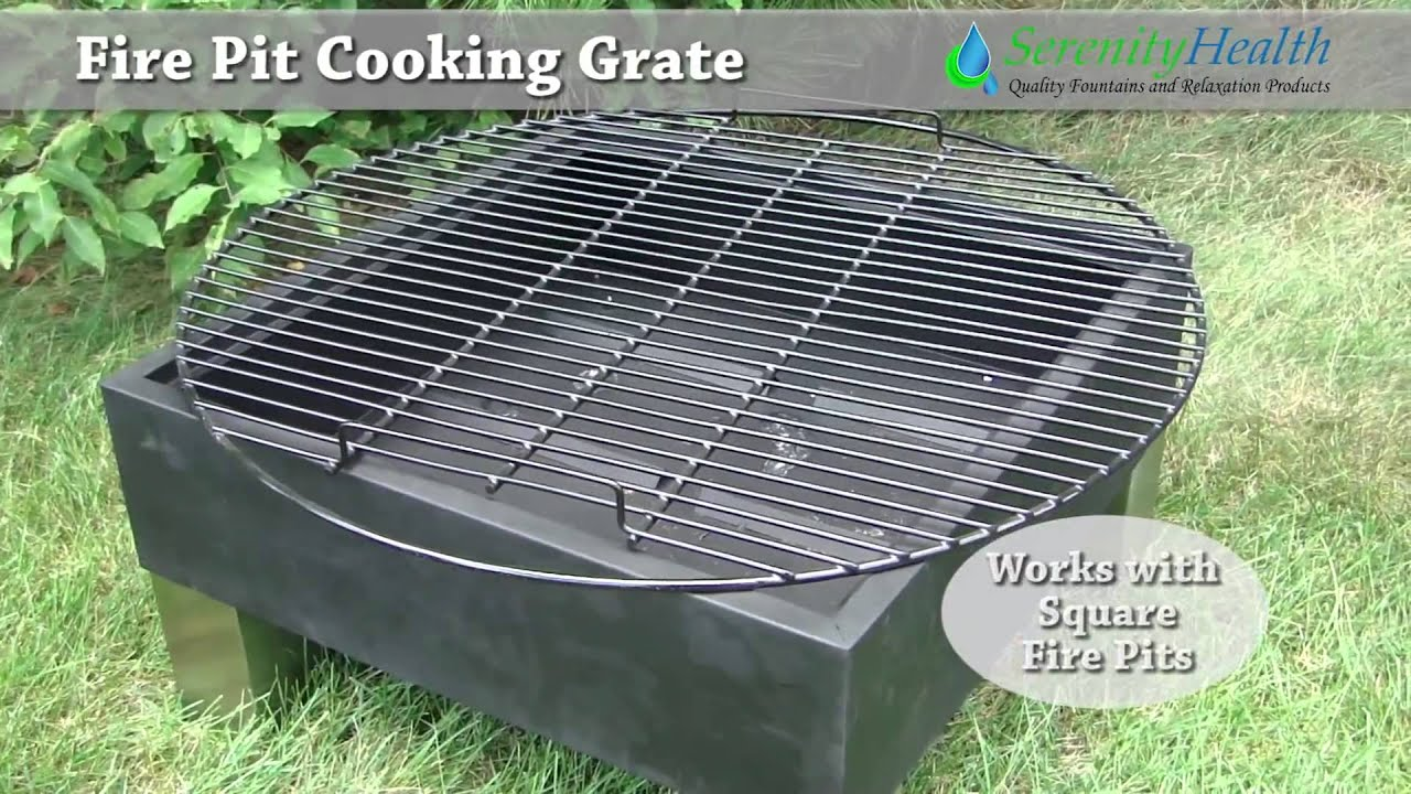 How To Make A Fire Pit Cooking Grate | Howsto.Co