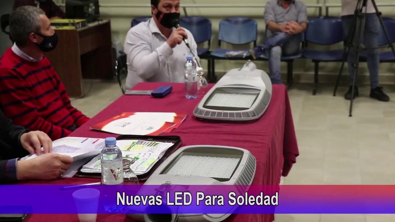Nuevas LED para Soledad