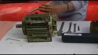 EP2 démontage des roulements d'un moteur asynchrone