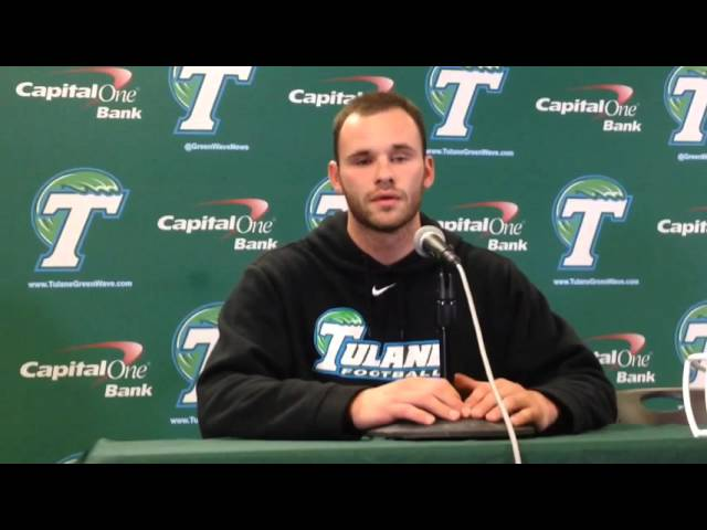 Tulane's Aaron Golub talks about being first legally blind player in NCAA history | Video