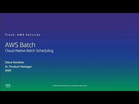 HPC on AWS Event - AWS Batch, Cloud-Native Batch Scheduling