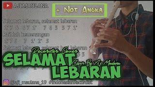 SELAMAT LEBARAN (Recorder Cover By Aji Maulana)