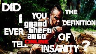 Vaas Once Again Tells People To Shut Up As He Plays GTA V Online [Soundboard Trollin
