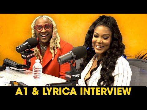 A1 And Lyrica Talk Safaree Drama, Pregnancy & Mending Their Relationship