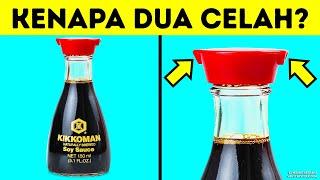 Botol Kecap Asin Punya Dua Celah, Apa Fungsinya?