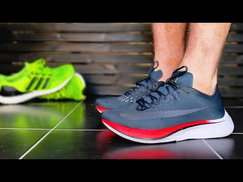 NIKE VAPORFLY 4% REVIEW & ON FEET | ROAD TEST ZoomX vs Boost?