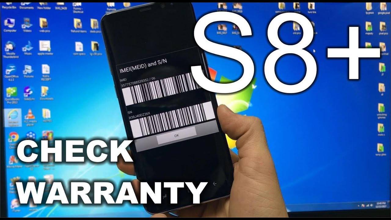 How to check the Warranty Status of your Samsung Galaxy S8+