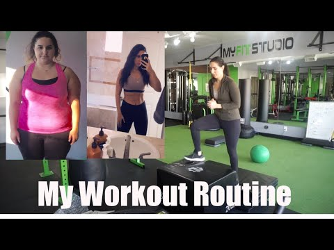 My Workout Routine *helped me lose over 100 pounds*