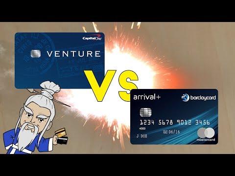 Capital One Venture VS Barclaycard Arrival+