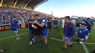 GoPro footage of France U20s historic win