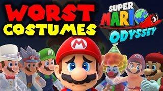 TOP 10 WORST Costumes! - Super Mario Odyssey