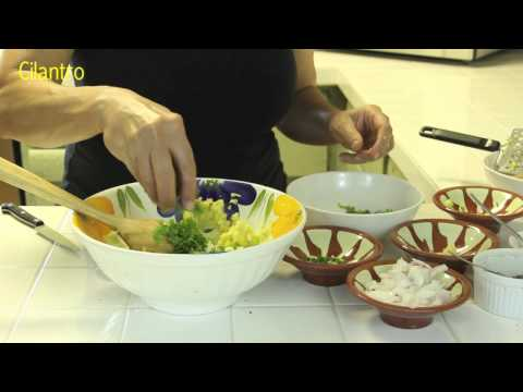 SanaaCooks: Unique Spicy-Sweet Mashed Potato with Cilantro and Lemon