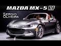 Mazda MX-5 RF; Más sofisticado pero igualmente divertido.