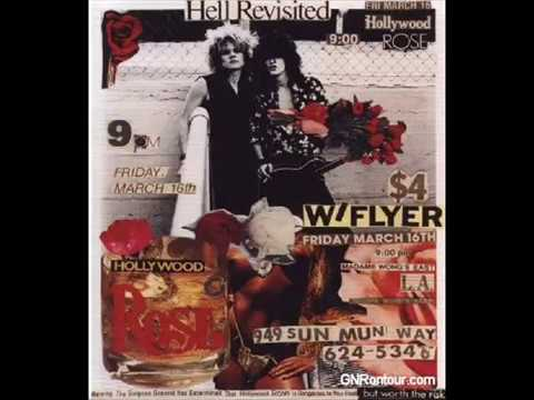 Hollywood Rose-Shadow of your love