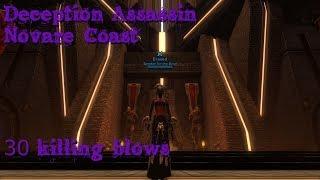 [Satele Shan] SWTOR Deception Assassin - Novare Coast, close but extremely fun