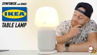 ???????? Repro-lampa IKEA Symfonisk Tablelamp se systémem SONOS | WRTECH [4K]
