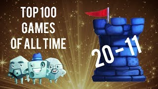Top 100 Games of All Time: #20 - #11