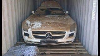 Denizin Dibinden Çıkan 710 Bin $'lık Mercedes SLS AMG