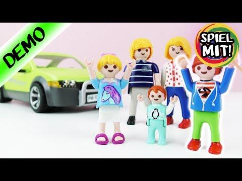 Neuer SPORTWAGEN für FAMILIE VOGEL!? Besser als Porsche? Playmobil Demo Deutsch - Spiel mit mir