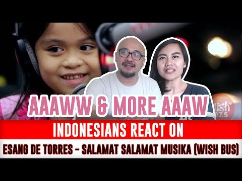 Indonesians React To Esang De Torres sings