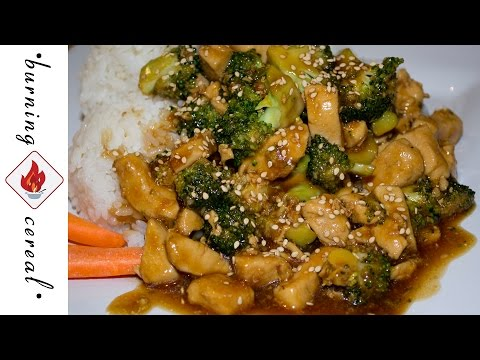 Teriyaki Chicken & Broccoli - Recipe