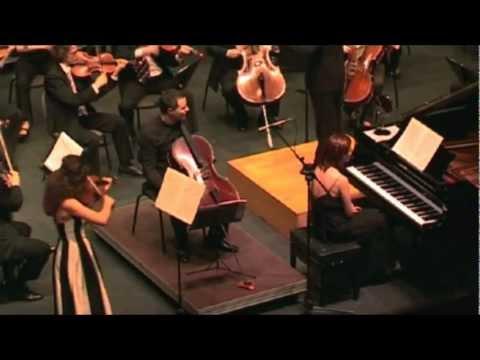 Beethoven triple Concerto in C major op.56 III Rondo alla Polacca. Susanna GREGORIAN Violin