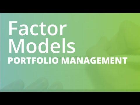 Factor Models | Portfolio Management (FINC201)