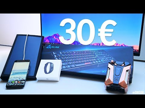 TOP 5 Objets High-Tech Pas Chers à moins de 30€!