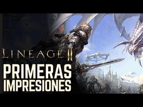 Lineage II MMORPG – Primeras impresiones – Gameplay en español
