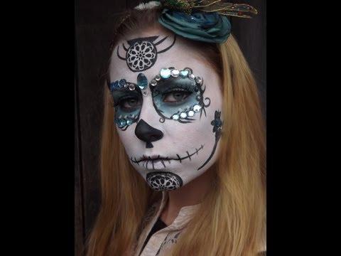 Halloween - Sugar Skull - La Catrina